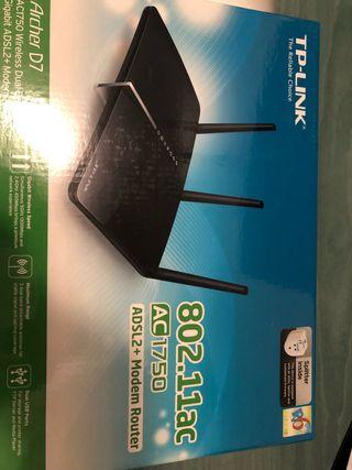 Router adsl2+ Tp-link Archer D7