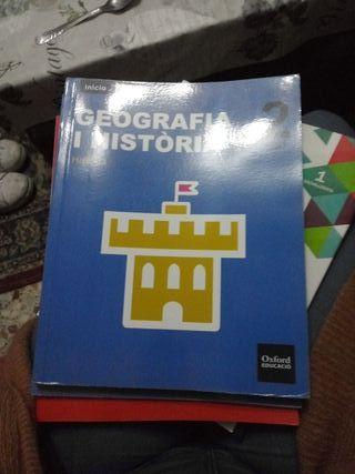 Libro geografia e historia 2 Eso