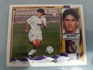 Cromo Alvaro Real Madrid