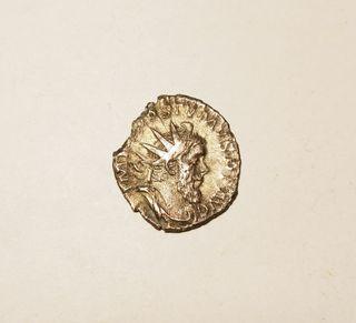 Moneda de plata romana de Postumo