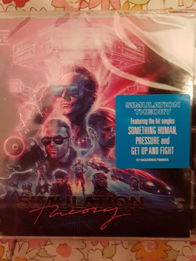 CD Muse Simulation Theory + Canciones en  mp3 de segunda