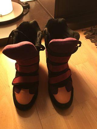Sneakers estilo isabel marant