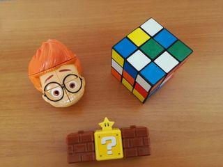 Lote de puzzles, cubo de rubik