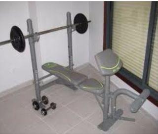 Banco de pesas Domyos BM 160