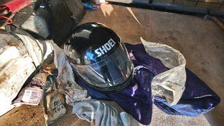 venta o cambio casco vintage integral