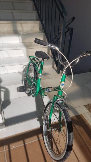 Bicicleta BH niño plegable folding antigua clásica