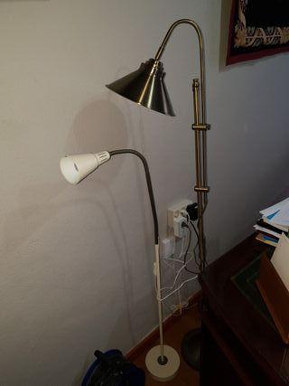 2 lamparas de pie perfectas