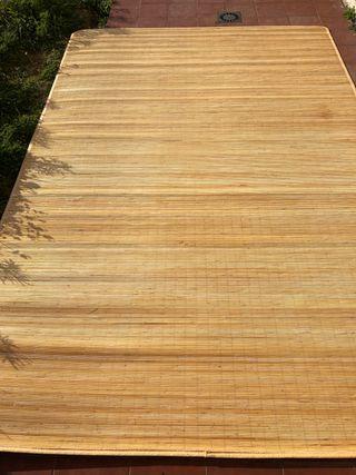 Alfombra bambú