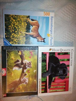 Puzzles de Animales 500 piezas