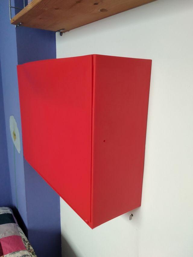 Zapatero Trones color rojo