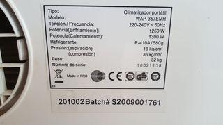 Climatizador portatil Equation