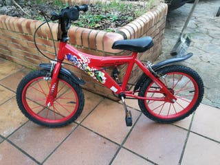 "bicicleta niñ@ de 16"""