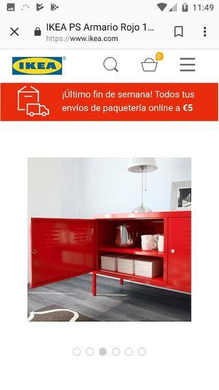 De Metalico En San Armario Segunda Ikea Mano € Agustín Por 60 Del rBWCxQedEo