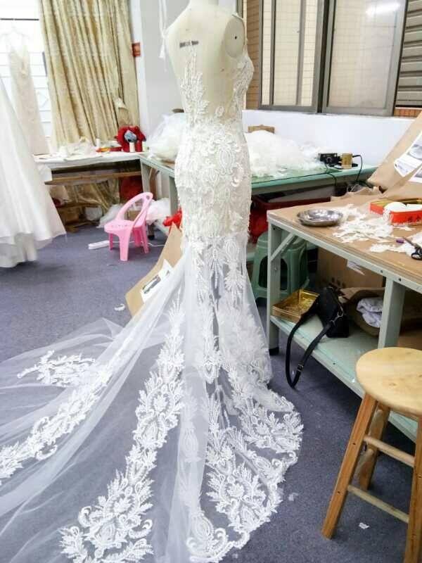 0bb19a192 Vestido de novia confección personalizada de segunda mano por 300 ...