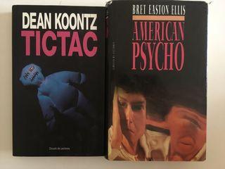 2 libros tapa dura (pack)