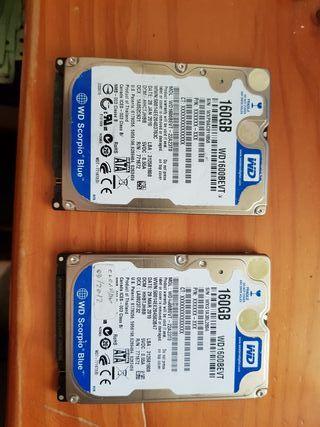 discos duros portatil 160 gb