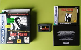 Max Payne GameBoy Advance