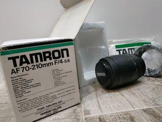 Objetivo TAMRON 70-210 para Nikon