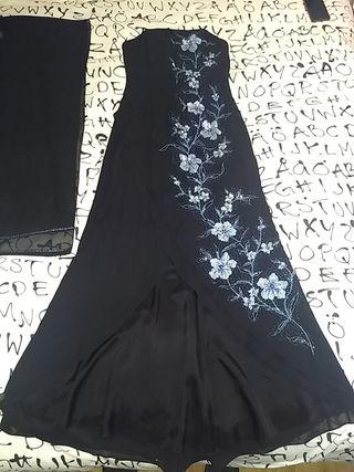 vestido de noche talla 38