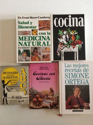 5 libros de cocina (pack)