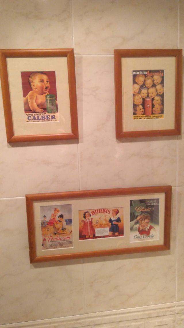 Cuadros para cuarto de baño o habitación infantil de segunda mano ...