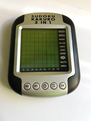 Sudoku y Kakuro electrónico
