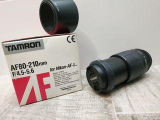Objetivo TAMRON 80-210 para Nikon