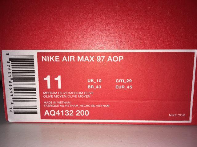 NIKE AIR MAX 97 AOP