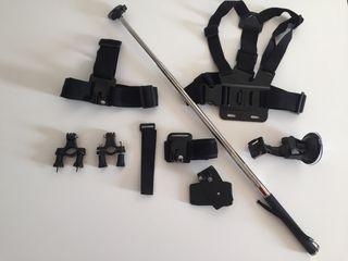 Kit pack accesorio sjcam go pro cámara deportiva