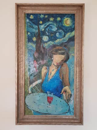 Original oil painting signed by the artist