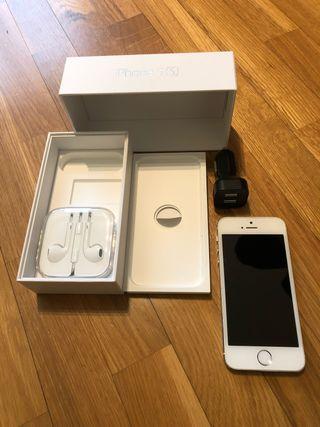 iPhone 5S 16 gb blanco. Perfecto. Batería nueva