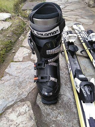 Botas chico esquí con funda de regalo