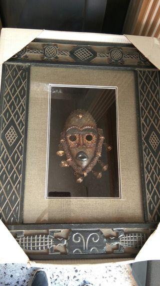 Cuadro máscara africana