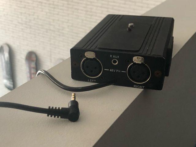 Beachtek DXA-6 adaptador sonido profesional dslr