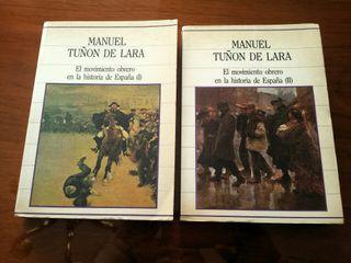 Libros:El movimiento obrero en historia de España