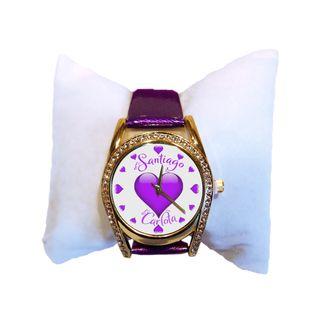 Reloj personalizado de mujer