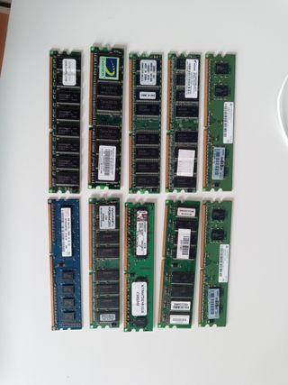 memoria RAM varias