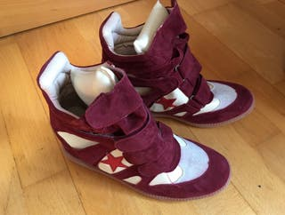 Sneakers estilo isabel marant.