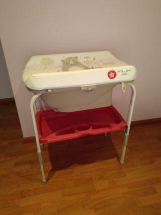 cabiador bañera para niños