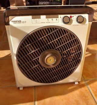 calefacción estufa ventilador