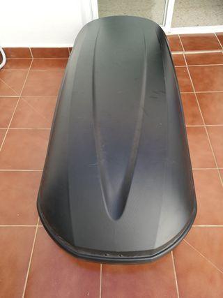 Cofre, baul o maletero de techo THULE 410 litro