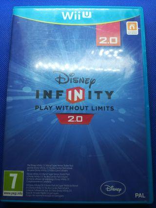 Disney infinity juego Wii U versión 2.0
