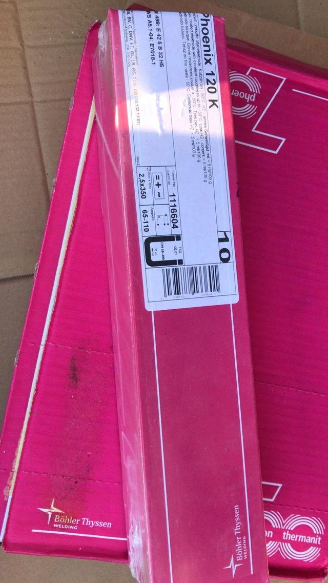 Vendo electrodos básicos 7018