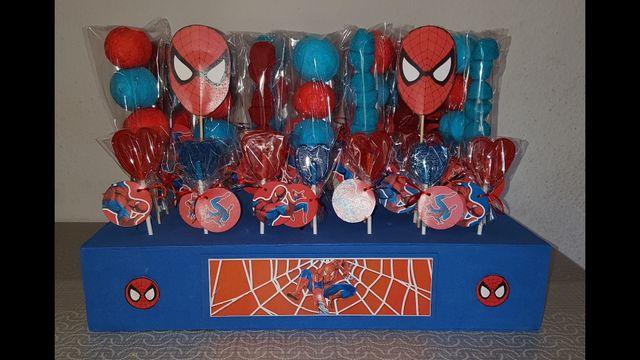 Decoración Cumpleaños Spiderman De Segunda Mano Por 1 En