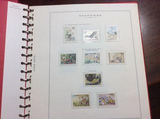 Álbum de sellos del japon