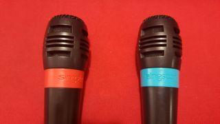 Micrófonos Singstar. PS2 / PS3 / PS4.
