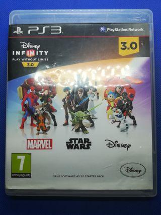 Disney infinity juego PS3 versión 3.0