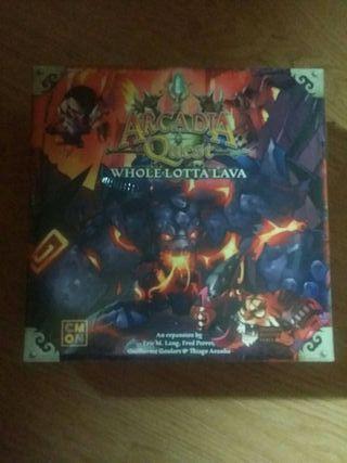 Arcadia Quest Inferno Expansion Whole Lotta Lava