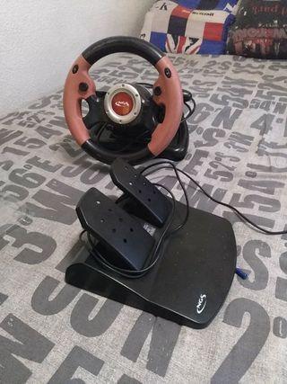 volante NGS diablo para xbox360, play3 y pc