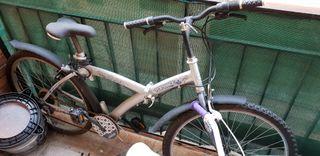 bici plegable bicicleta